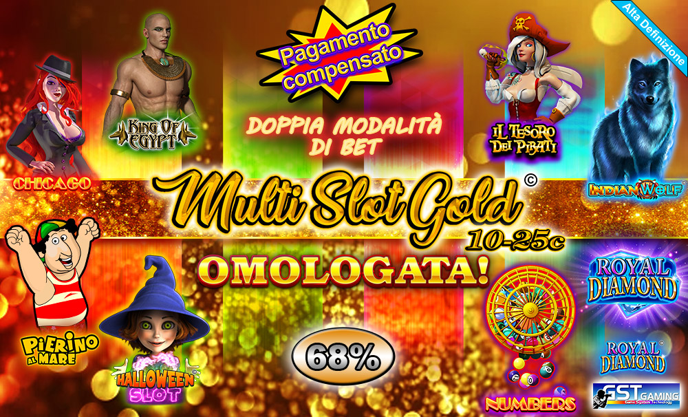 Multi Slot Gold 10-25c (GST Gaming S.r.l.)