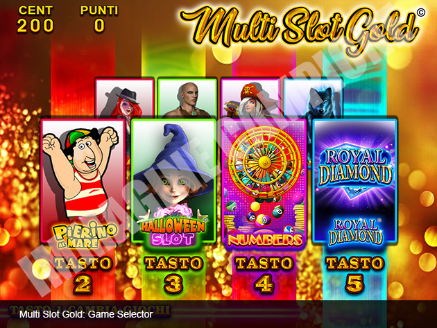 Multi Slot Gold 2